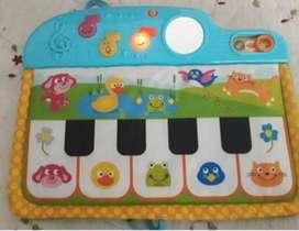 Tapete para bebe musical piano