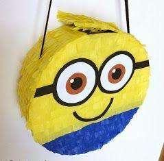 Piñata Minions Estilo Mexicano Desde