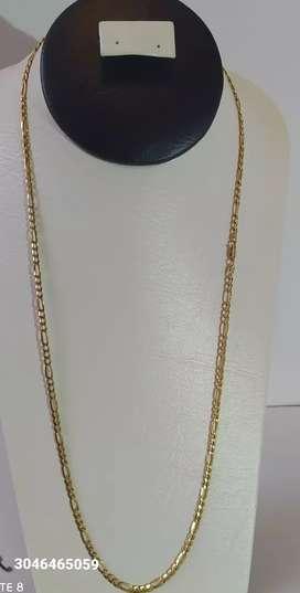Cadena en oro 18k ley 750 italy