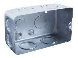 cajas de chapas o  plasticas para luz termicas tableros