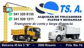 Alquiler de camiones volcadores