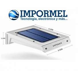 Luz Led Inalambrica Solar Impermeable Patio Jardín Sensor