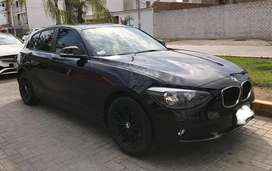 Bmw 114i hatchback biturbo 2013 con 49000 km