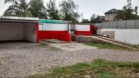Predio apto lavadero de autos, taller deposito etc. sobre Recta Martinoli