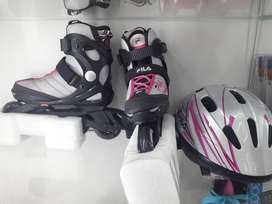 Patines lineales FILA Full equipo