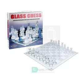 Ajedrez De Cristal Elegante Glass Chess Juego De Mesa