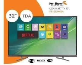 smart tv  ken brown  32 pulgadas nuevo garantia escrita