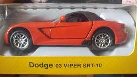Dodge viper de colección escala 1/39
