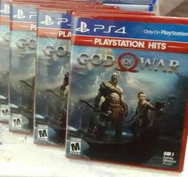 God Of War 4 Ps4 Nuevo Sellado Stock