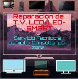 Servicio Técnico T.v. Lcd-led-smart