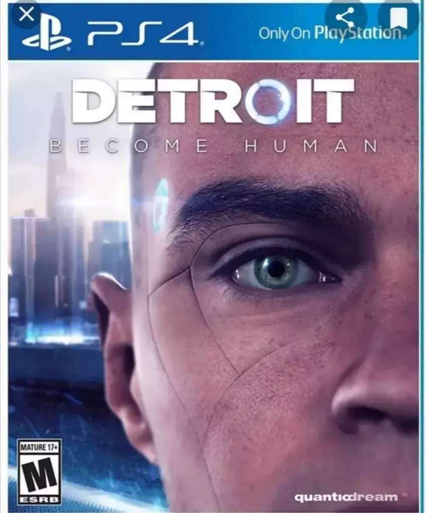 DETROIT PS4 0