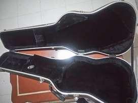 Forro estuche de guitarra stratocaster duro chapas