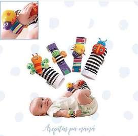 Medias de estimulacion para bebés