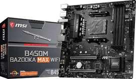 Board B450M Bazooka max wifi para AMD