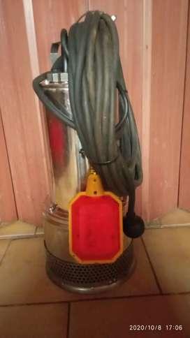Bomba sumergible trituradora desagote cloacal