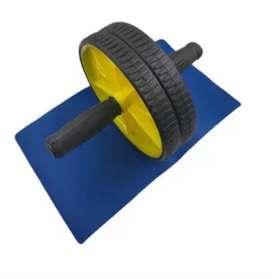 rueda abdominal con tapete