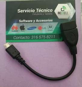 Cable otg para celular
