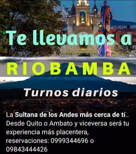 Taxi vip Ambato-Quito-Aeropuerto-Riobamba
