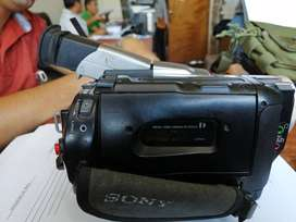 Vendo una filmadora sony 360x digital zoom