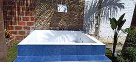 Reparación y pintura de piscinas, jacuzzis y tinas de baño