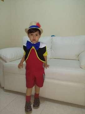 Disfraz de Pinocho Talla 3