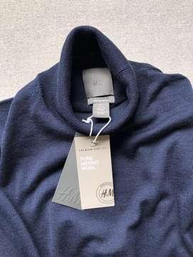 Buzo cuello tortuga en hilo H&M talla L