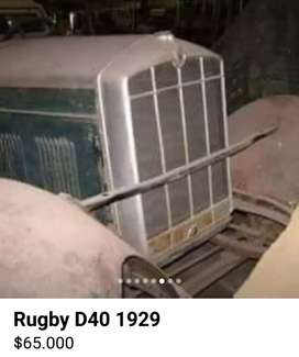 VENDO RUGBY D40 1929