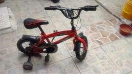 Vendo dos ciclas niño y niña