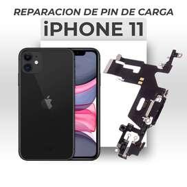 ¡Cambio de Pin de Carga Iphone 11!
