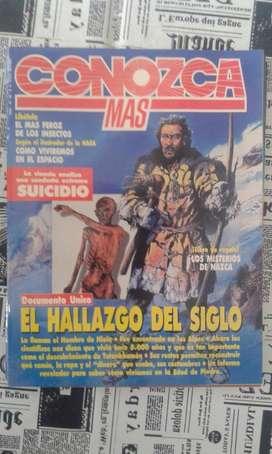 Antigua Revista Conozca Mas Numero 48 Año 1992