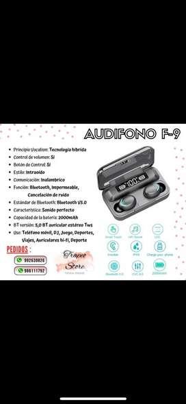 Audifonos   F9