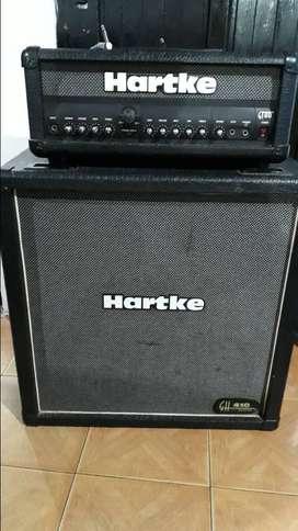 Amplificador valvular guitarra Hartke