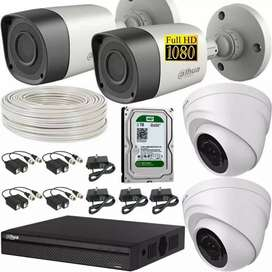 Kit CAMARAS De seguridad CCTV