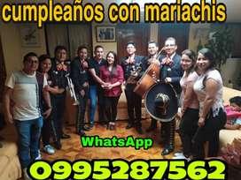 Cumpleaños con mariachis en Aloasi