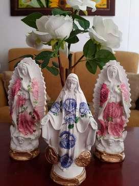 Virgen de Guadalupe y milagrosa