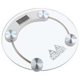 Balanza digital de baño de vidrio templado,soporta peso hasta 180 Kg