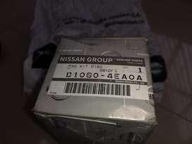 Pastillas de Freno Trasero Nissan Qashqai 2016