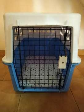 Caja transportadora perros o gatos