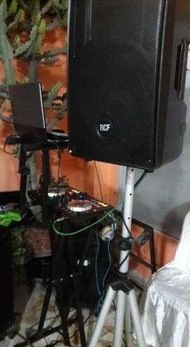 Alquiler de Equipo de Sonido Cn Dj Y Mc