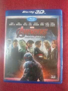 Blue Ray 3d Marvel Avengers
