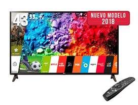 Tv Smart Lg de 43 4k Nuevos