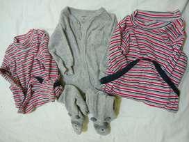 Pijamas carters 6m pañalero c/u otro $500