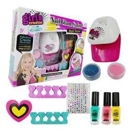 Set de belleza uñas para niña