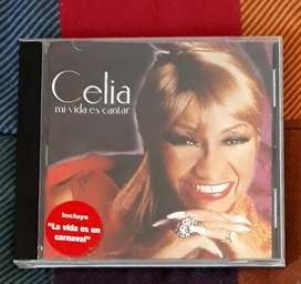 Cd Original Celia Cruz Mi vida es cantar 1998