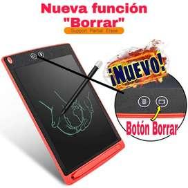 """Pizarra de Escritura Dibujo Tablet LCD 8.5"""" Dos Botones"""
