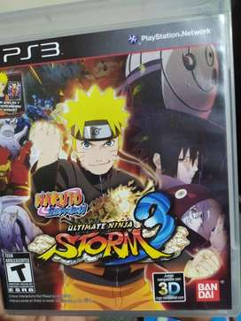 Naruto Ultimate Ninja 3 Como Nuevo