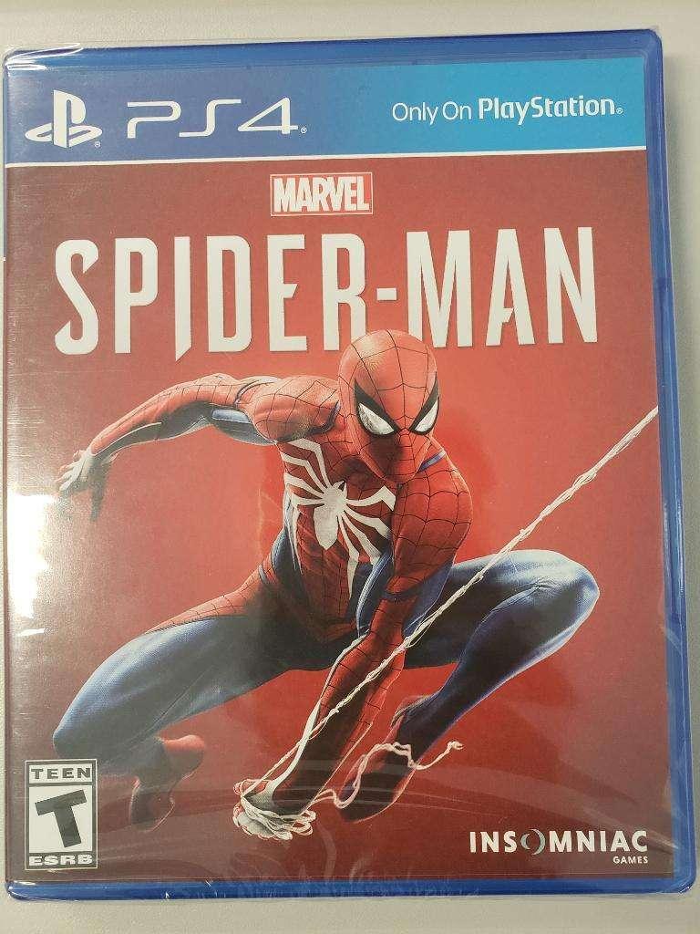 Spiderman Ps 4 Nuevo 0
