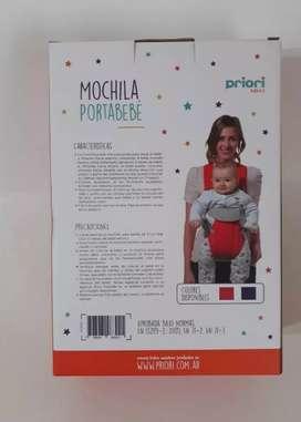 Mochila porta bebe priori