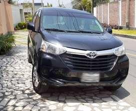 Camioneta Familiar Toyota Avanza Mecánico 2017 (modelo 2018)