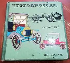 Antiguo libro sueco de los años 60 historia del automovil
